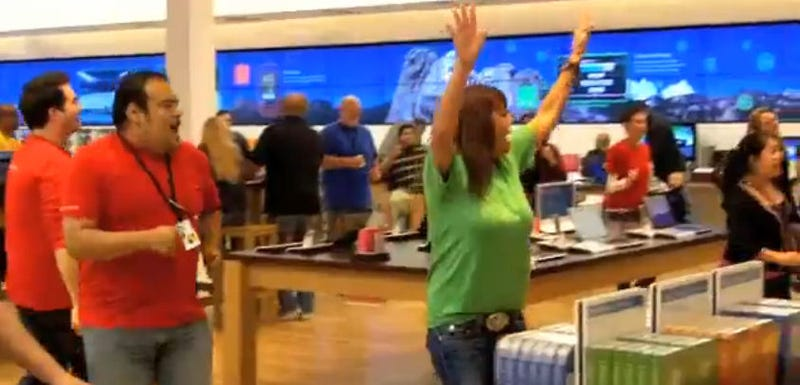 Awkward Microsoft Store Dances Are Why I Shop Online