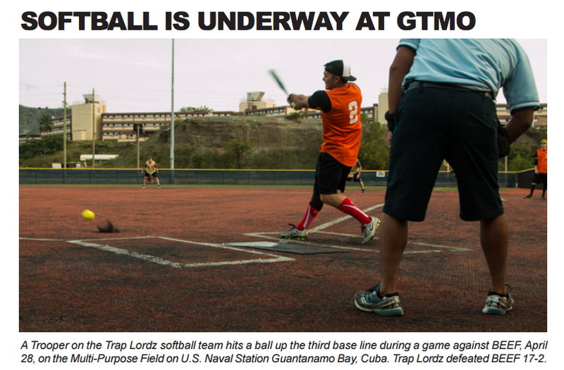 Guantanamo Bay's Intramural Sports Team Names Are the Only Good Things About Gitmo