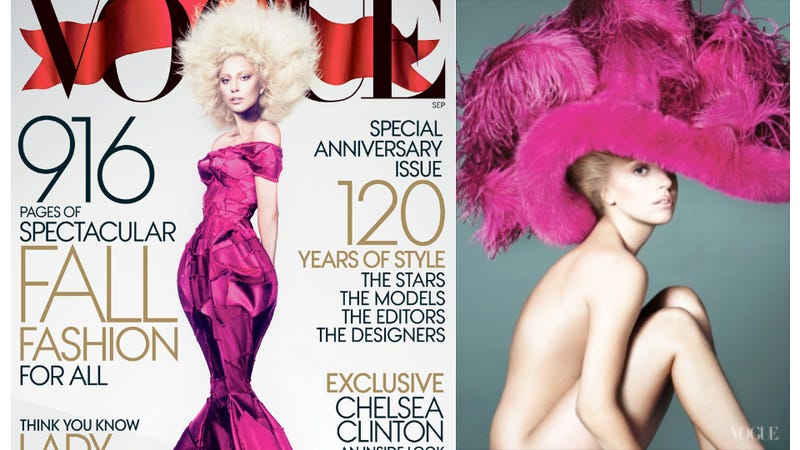 Lady Gaga Looks Like Ursula the Sea Witch on the New Cover of Vogue