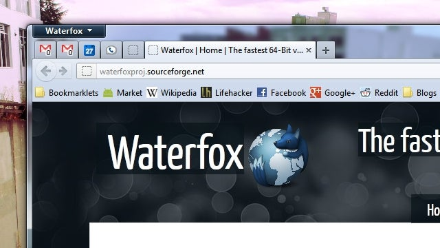 Waterfox is a Faster, 64-Bit Optimized Version of Firefox for Windows PCs