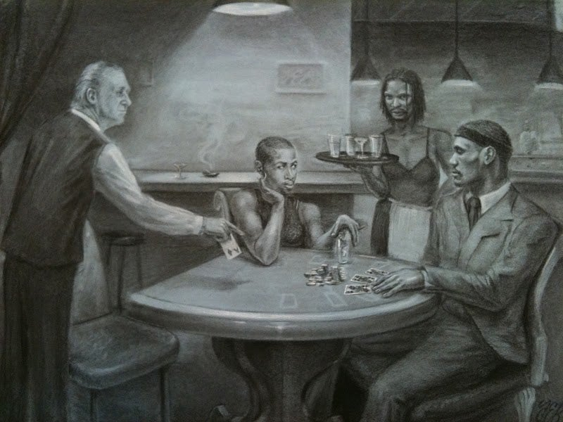 LeBron Learns About Karma, In Art Form