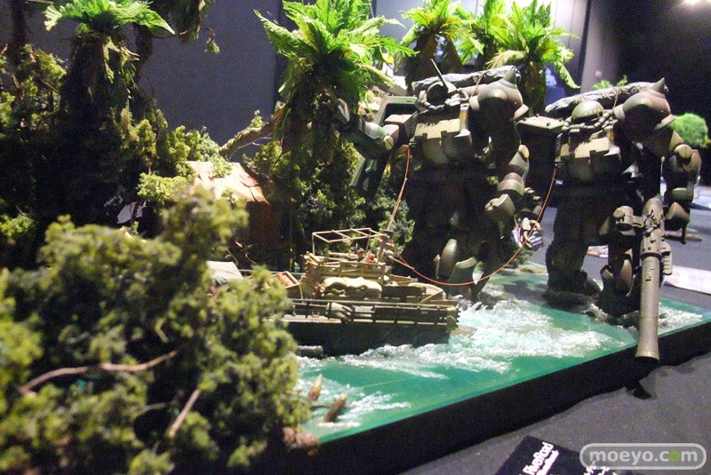 Mecha Sure Look Awesome Stomping Through Swamps