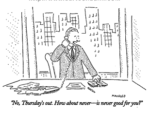 """How About Never?"" The New Yorker's Cartoon Editor Explains It All"