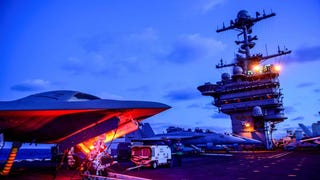 Apparently, the US Navy got itself some cool alien spaceships