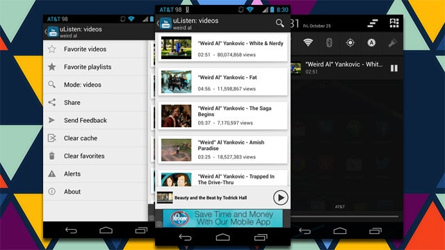 uListen Plays Just YouTube Audio in the Background While You Multitask
