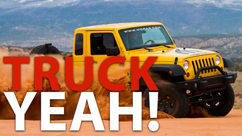 A Jeep pickup will restore America's manhood