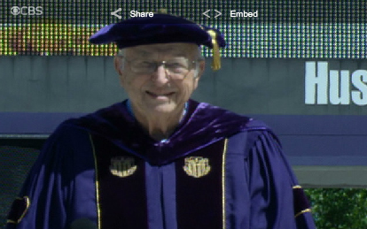 Bill Gates Sr. Offers Graduates Some Life Lessons