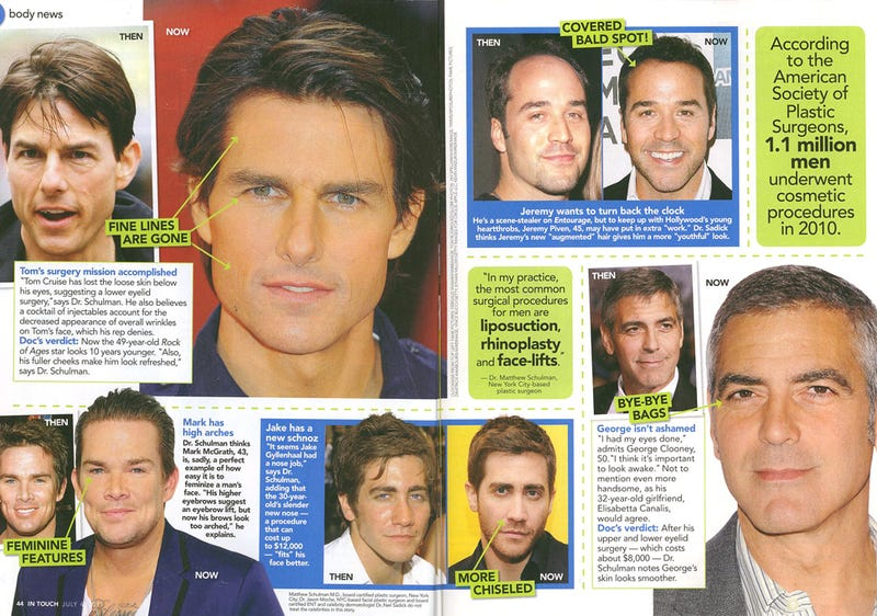 This Week In Tabloids: Jake Gyllenhaal & Ashton Kutcher's Old Noses, Revealed