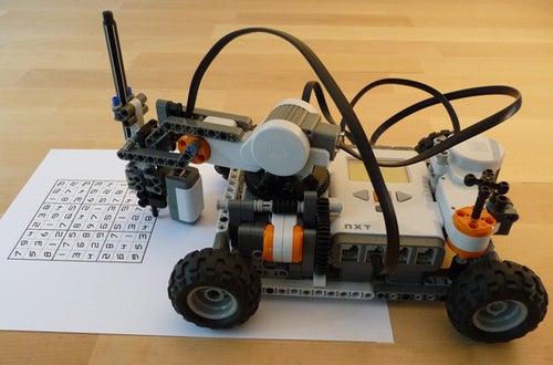 Lego Roboto Solves Sudoku