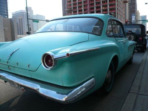 1961 Dodge Lancer 770 In Denver May Be Obama's Personal Campaign Vehicle