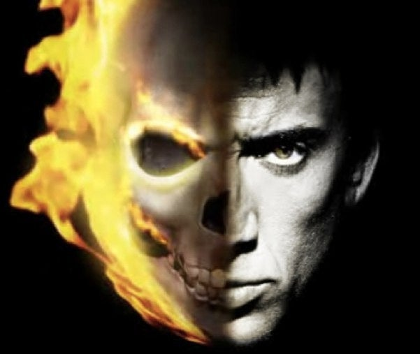 "Nic Cage explains how Ghost Rider 2 will ""mess with people's minds"""