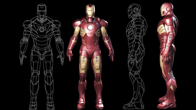 Iron Man Suit Technology to a Real Iron Man Suit