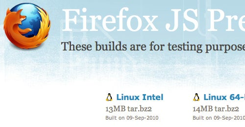 Try Out Firefox's New JaegerMonkey JavaScript Engine in Nightly Builds