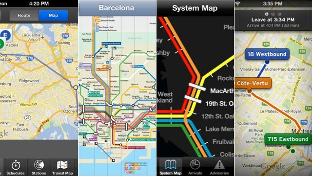 The Best Public Transit Apps for iOS 6 (Since Apple Maps Doesn't Have It)