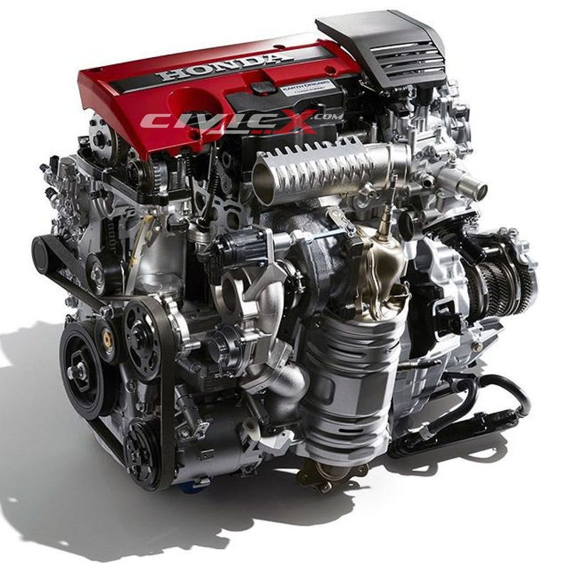 What Can You Tell About The 2017 Honda Civic Type R Engine
