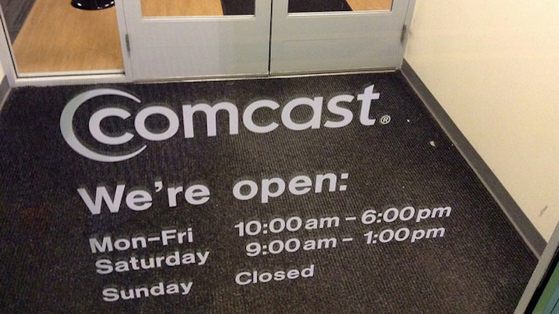 You Can Get a Bill Credit From Comcast For Monday's Service Outage