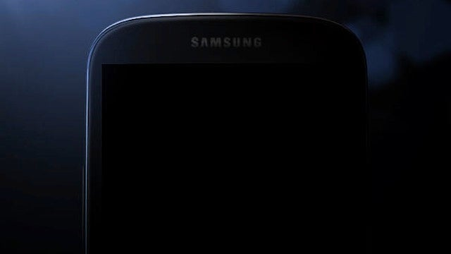 Samsung Teases the Galaxy S IV with a Picture Showing the Outline of the Phone