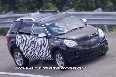 2010 Chevy Equinox Shows Off New Curvy Sheetmetal