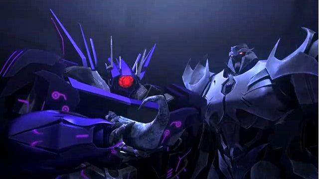 Shockwave re-animates prehistoric Decepticon armies on Transformers