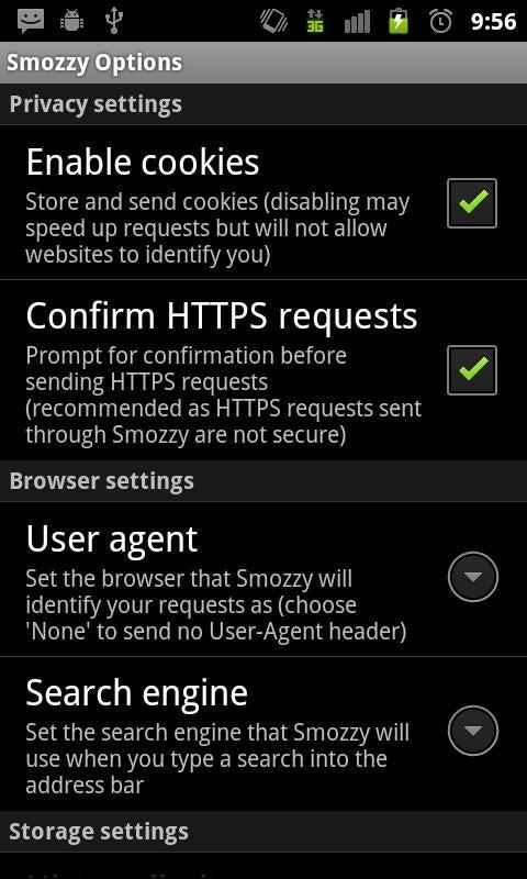 Smozzy App Gallery