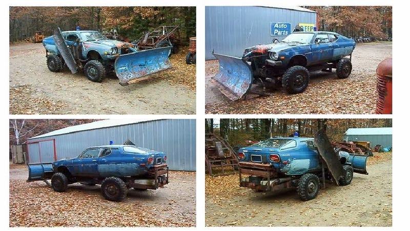 Get Ready For Winter With A Datsun F10 Body On A 1940 Dodge Frame