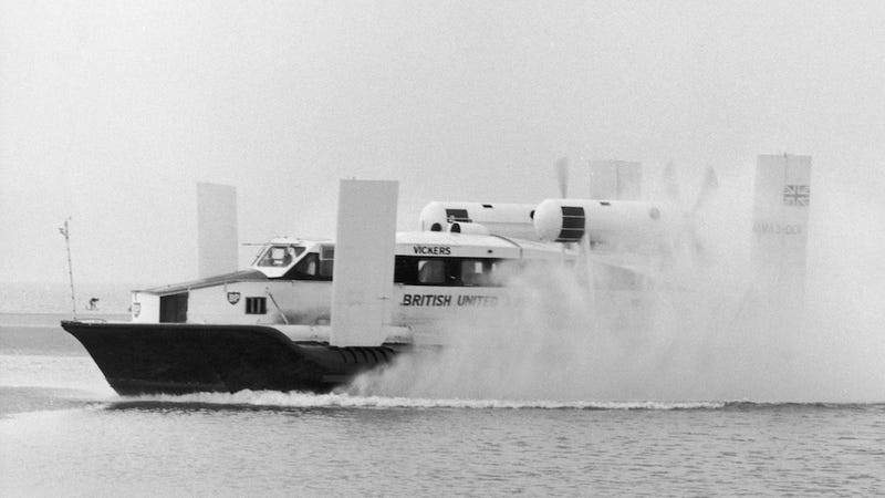 An Illustrated History of the Hovercraft
