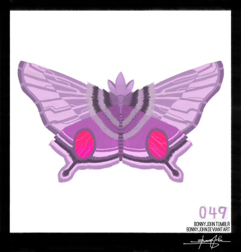 Let's look at Venomoth! Pokemon One a Day!
