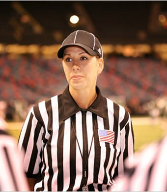 First Woman Refereeing Top-Tier College Football Games