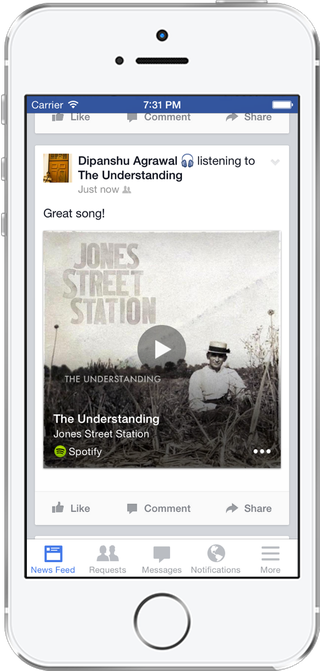 Facebook App Adds Shazam-Like Function to Identify Songs and Shows