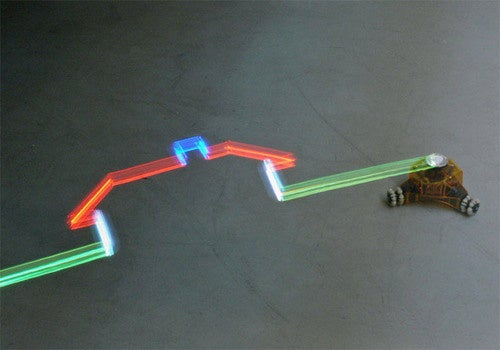 Lightdrawing Robot Gallery