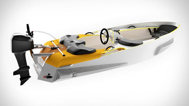 Tiny Boat Brings Go-Karting to Your Local Lake