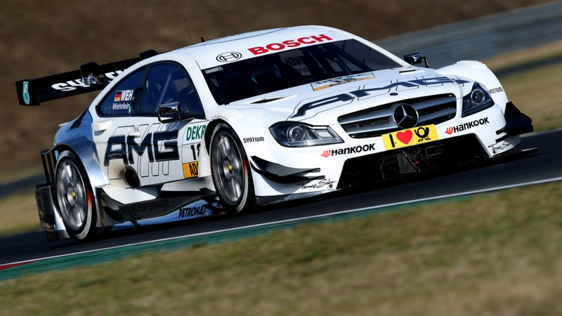 Accident At Mercedes DTM Demo Leaves Two Bystanders Injured