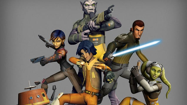 Star Wars Rebels: How I Learned to Stop Worrying & Love Star Wars Again
