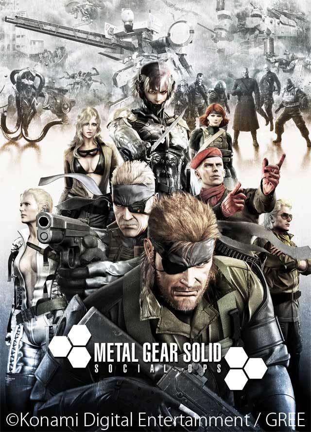 Brand New Metal Gear! It's..Um...a Social Game