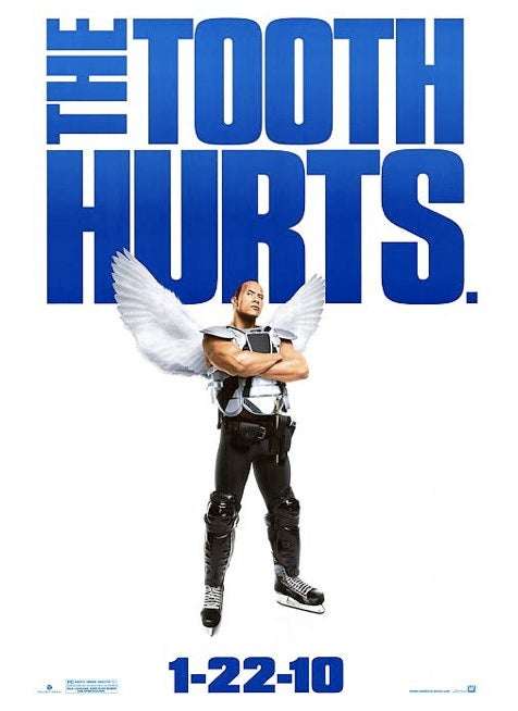The Rock As The Tooth Fairy, Hilarity Must Ensue
