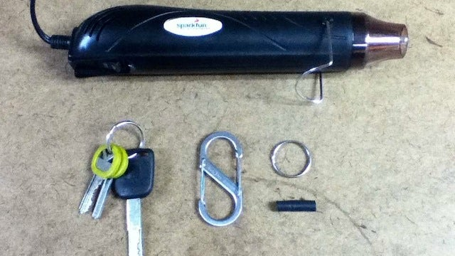 Hack a Carabiner with Heat Shrink Tubing to Build the Ultimate Keychain