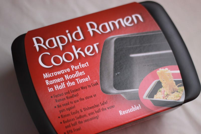 I bought this ramen cooker.