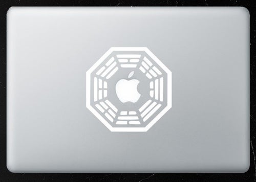 MacBook Pro Decal Reveals Secret LOST Ending