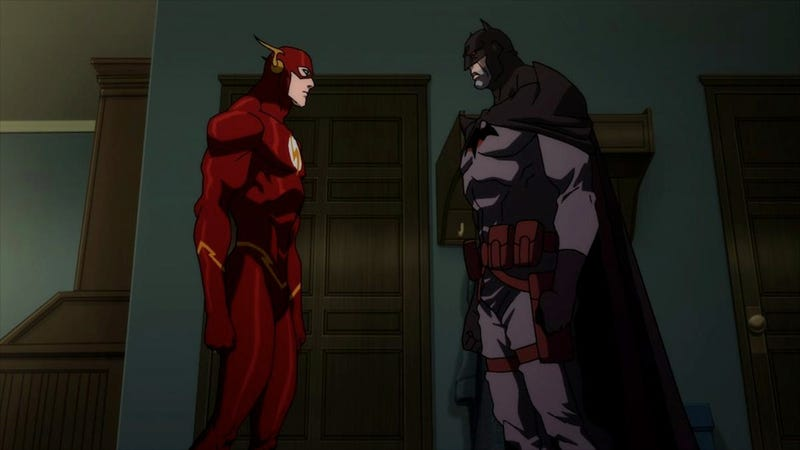Yes, Flashpoint Paradox is setting up the DC animated New 52 universe