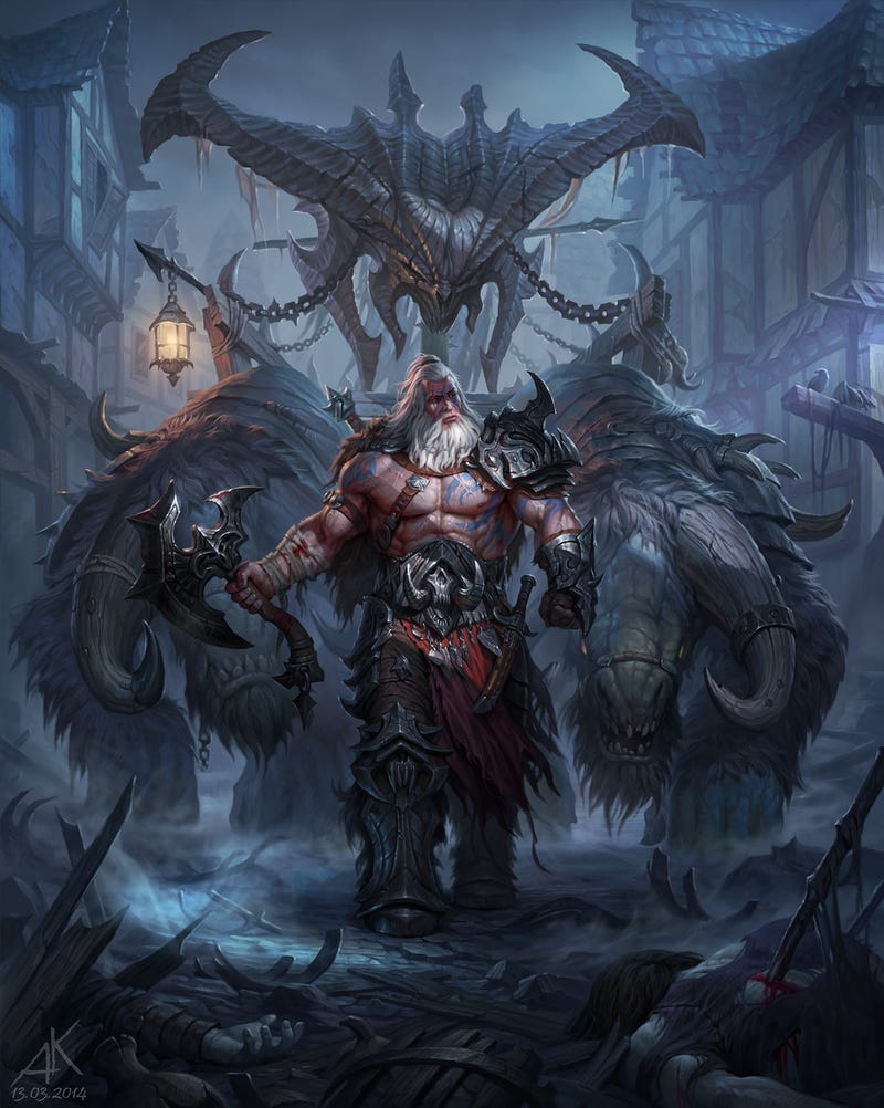 Here, Have Some Spectacular Diablo III Artwork