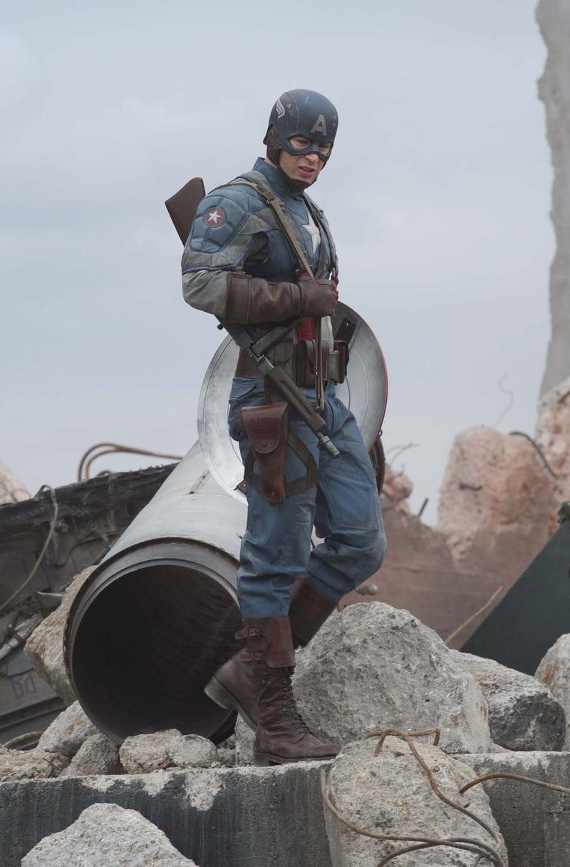 New Captain America photo