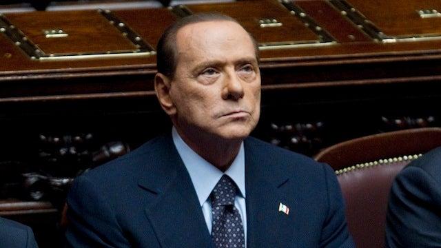 Silvio Berlusconi Finally Says He'll Step Down