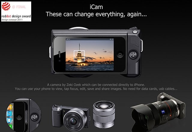 iCam Bypasses Clunky Factory-Installed Camera Interfaces with an iPhone