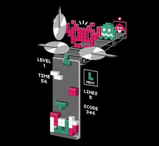The Terrible Truth Of How the Tetris Sausage Is Made