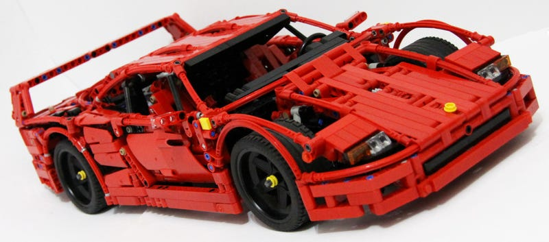 this lego ferrari f40 is the coolest. Black Bedroom Furniture Sets. Home Design Ideas