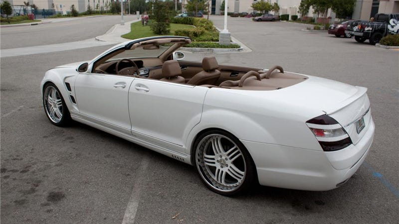 Crazy one off cars are why it s great to be a celebrity for Mercedes benz suicide doors