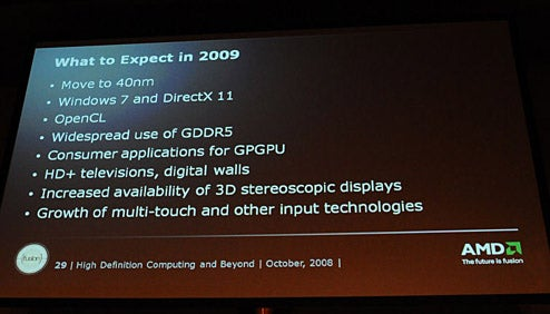 AMD Promises DirectX 11 in 2009