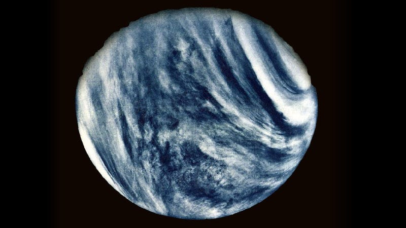If You Were Arriving at Venus, This Is What You Would See