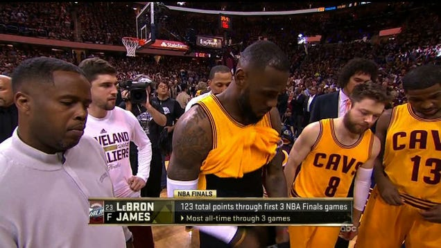 Hey, Look: It's LeBron's Dick! (NSFW, Probably)