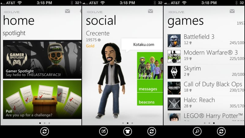 My Xbox Live on My Apple iPhone